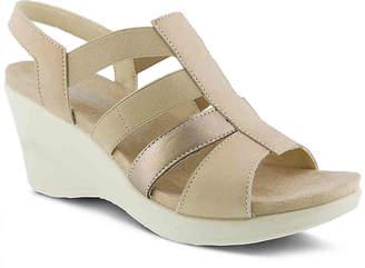 Spring Step Flexus by Monnie Wedge Sandal - Women's