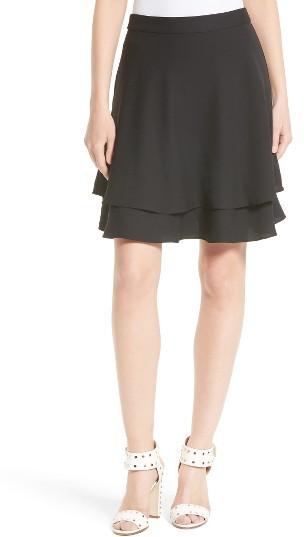 Women's Kate Spade New York Double Layer Skirt