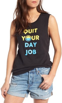 Women's Sub_Urban Riot Day Job Muscle Tee $34 thestylecure.com