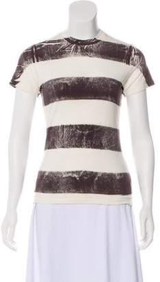 Factory Warhol x Levi's Striped Short Sleeve Top