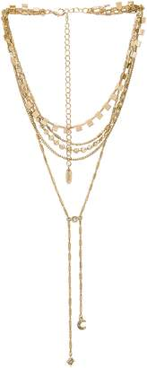 Ettika Layered Lariat Necklace