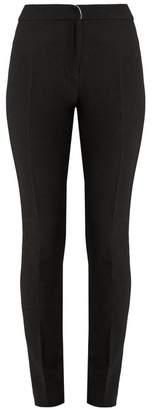 Carl Kapp - Sharp Slim Leg Wool Trousers - Womens - Black