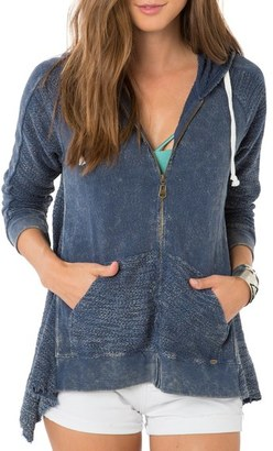 O'Neill 'Dew' Zip Cotton Hoodie $74 thestylecure.com