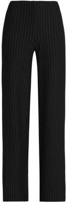 Bailey 44 Imperial Pinstriped Stretch-Jersey Wide-Leg Pants