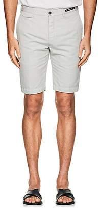 Pt01 Men's Linen-Cotton Bermuda Shorts - Cream