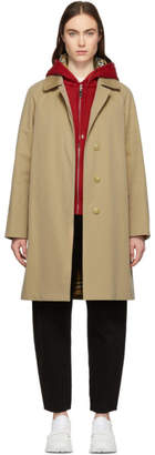 Burberry Beige Camden Car Coat