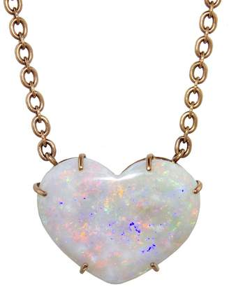 Irene Neuwirth 29.30 Carat Opal Heart Necklace
