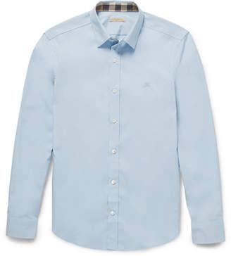 Burberry Cotton-Poplin Shirt