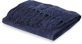 Canyon Chenille Throw - Blue