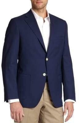 Samuelsohn Classic Wool Blazer
