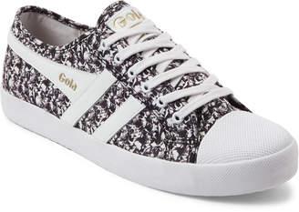 Gola + Liberty White & Black Coaster Liberty Low-Top Sneakers