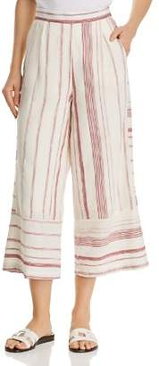Lost and Wander Mariana Striped Wide-Leg Pants