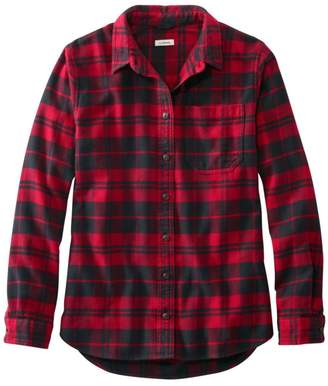 L.L. Bean Women's L.L.Bean Organic Flannel Tunic, Plaid