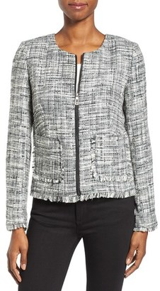 Women's Ivanka Trump Tweed Jacket $149 thestylecure.com