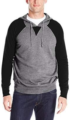 Alex Stevens Men's Raglan Sleeve Hoodie