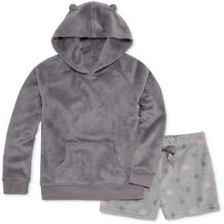 Arizona 2-pc. Shorts Pajama Set Girls