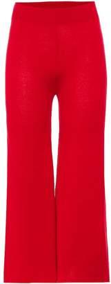 Roche Ryan Cashmere wide-leg pants
