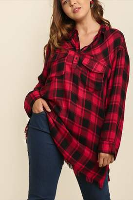 Umgee USA Plus Plaid Popover
