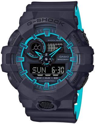 G-Shock Men's Analog-Digital Blue Resin Strap Watch 54mm