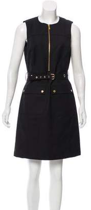 Michael Kors Belted sleeveless Dress