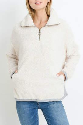 Paper Crane Pullover Fleece