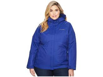 Columbia Plus Size Blazing Startm Interchange Jacket Women's Coat