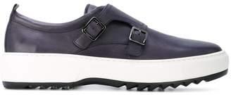 Salvatore Ferragamo monk strap sneakers