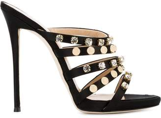 Giuseppe Zanotti embellished multi-strap sandals