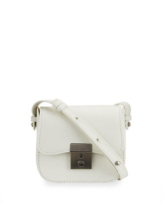 Kelsi Dagger Assembly Leather Mini Crossbody Bag, Ice $70 thestylecure.com