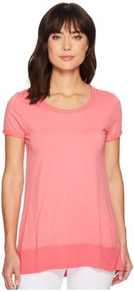 Mod-o-doc Supreme Jersey Short Sleeve Hi-Low Hem Tee Women's T Shirt
