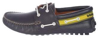 DSQUARED2 Leather Boat Shoes