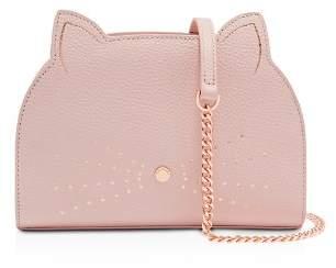 Ted Baker Kirstie Cat Medium Leather Shoulder Bag