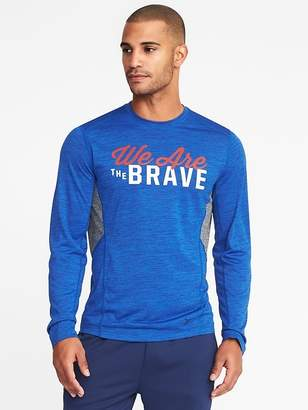 Old Navy Go-Dry Graphic Performance Tee for Men