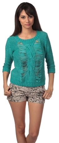 Romeo & Juliet Couture Open Weave Sweater
