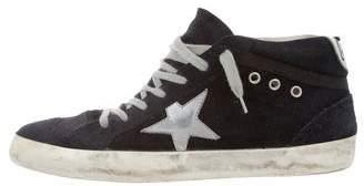 Golden Goose Mid/Star High-Top Sneakers