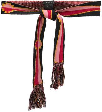 Etro knitted belt