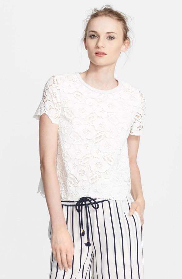 Rachel Zoe 'Autumn' Lace Top