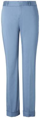 Banana Republic Avery Ankle-Fit Sateen Pant with Cuff
