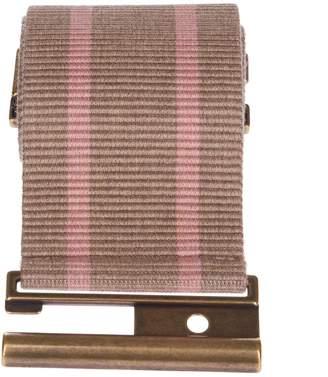 Semi-Couture Semicouture Erika Cavallini Striped Belt