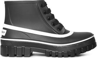 Givenchy Glaston lace-up rubber rain boot