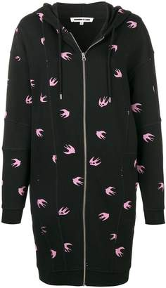 McQ Mini Swallow long cardigan