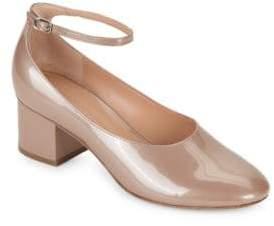 Sigerson Morrison Kairos Patent Leather Ankle Strap Pump