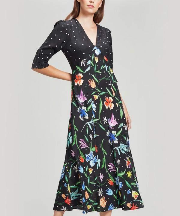 RIXO Martha Dress
