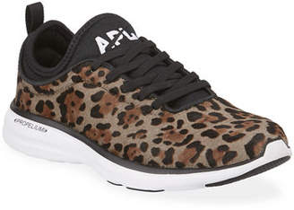APL Athletic Propulsion Labs Athletic Propulsion Labs Phantom Calf Fur Running Sneakers