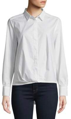 Marella Long Sleeve Button Front Shirt