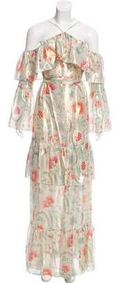 Rachel Zoe Maier Silk Maxi Dress w/ Tags