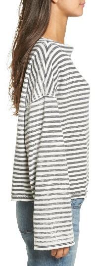 Women's Treasure & Bond Slouchy Fleece Pullover 4