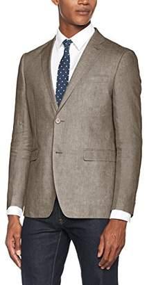 Esprit Men's 047EO2G009 Suit Jacket, (Light Beige 290)