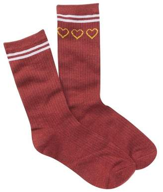 Free Press Verbiage Varsity Crew Socks