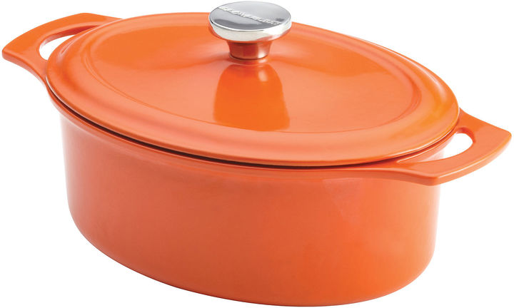 Rachael Ray 3-qt. Covered Oval Dutch Oven